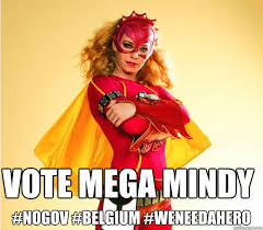 Mindy Meme - vote mega mindy nogov belgium weneedahero mega mindy for