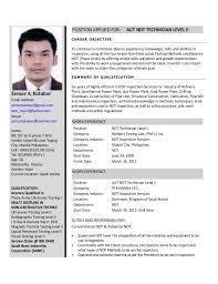 Ndt Resume Sample by Latest Resume Format Resume Cv Cover Letter