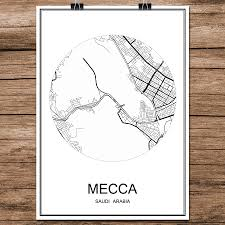 Mecca On Map Buy Mecca Wall And Get Free Shipping On Aliexpress Com