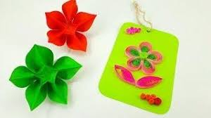 tutorial quilling flower how to make quilling flower tutorial quilling craft flower