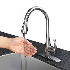 sensor kitchen faucets motion sensor kitchen faucet ppi