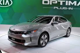 Kia Optima Release Date Kia Expands Green Lineup With Updated Optima Hybrid And New Plug