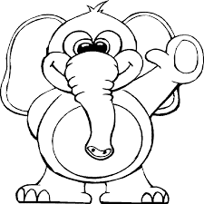 trials circus elephant coloring pages