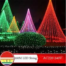 100m white led string light 600leds wedding partying