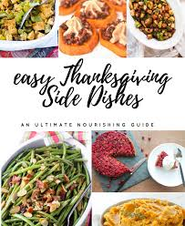 easy and nourishing thanksgiving side dish recipes approved by