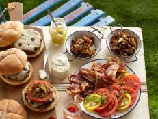 Backyard Bbq Party Menu Traditional Bbq Menu Cooking Channel Summer Party Recipes And