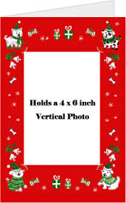 christmas cards insert photo christmas lights card and decore