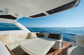 Cockpit Cushions For Yachts Outdoor Comfort And Protection Equipment For Powerboats Chx Marine