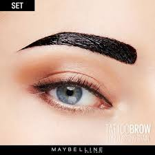 tattoo brow peel off tinted semi permanent eyebrows maybelline