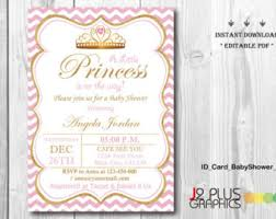 princess baby shower princess baby shower etsy