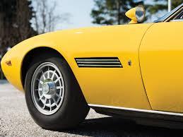 maserati yellow rm sotheby u0027s 1968 maserati ghibli spyder prototype by ghia