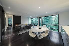 Modern White Dining Room Interior Astounding Image Of Dining Room Decoration Using Black