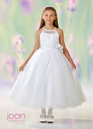 joan calabrese communion dresses joan calabrese 118322 spaghetti communion dress