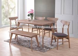 Solid RubberwoodDining SetDining ChairDining TableRubberwood - Rubberwood kitchen table