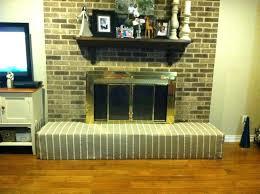 fireplace safety foam baby proof a brick fireplace with a foam