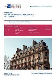chambre des notaires seine denis calaméo programme des ventes des séances du 20 et 27 mars 2018