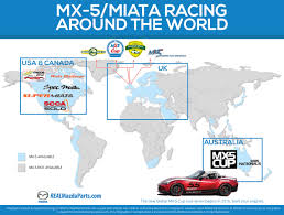 mazda worldwide take your miata racing today rallyways