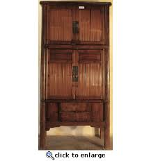 antique asian furniture bamboo kitchen cabinet from china