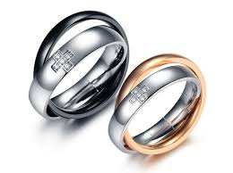 best promise rings images Popular promise rings for couples with him her gothic style jpg
