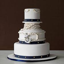 nautical themed wedding cakes nautical wedding cakes bexbernard