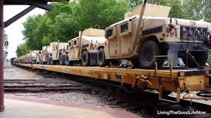 military jeep tan 2017 convoy trains transporting un military tanks prepare for