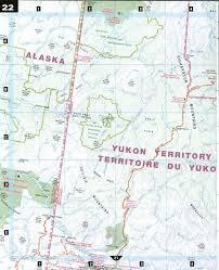 Map Of Yukon Northern Yukon