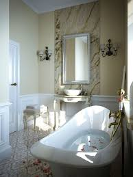 bathroom 2017 white stain wall granite countertop granite floor