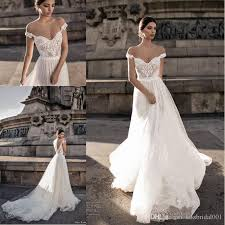 cheap bridal gowns discount berta bridal 2018 bohemian wedding dresses illusion