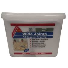 Patio Jointing Compound Sika Retail Pave Fix Grey 8kg At Homebase Co Uk