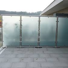 glas balkon windschutz balkon panther glas ag