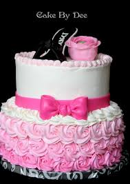 buttercream cake decorating ideas pink hombre birthday cake by
