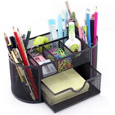 Desk Organizer Box Aliexpress Com Buy Home Office Multifunction Pen Holder Desk