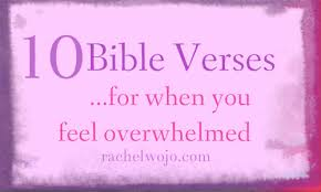 Scripture Verses On Comfort 10 Bible Verses For When You Feel Overwhelmed Rachelwojo Com