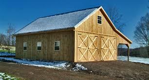 Shed Row Barns For Sale Modular Barns Prefab Horse Barns Horizon Structures