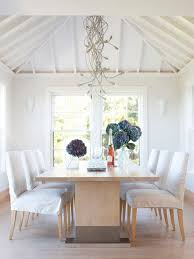 Houzz Dining Chairs Amazing Skirt Slipcovered Chair Houzz Intended For Slip