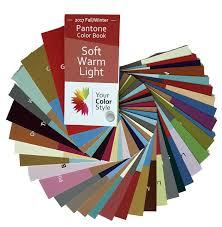 pantone 2017 colors soft warm u0026 light color fan u2013 2017 fall winter pantone book