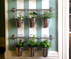 Herb Garden Pot Ideas Hanging Kitchen Herb Garden Gardening Ideas
