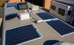 How Long To Charge Solar Lights - rv marine battery charging solar u0026 shore power combined