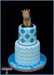 giraffe baby shower cake by cuteologycakes cakesdecor com