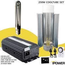 250 watt hid grow lights best price 250w digital super hps grow light system with air cooled