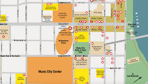 Nashville Tennessee Map by Get To Know Nashville When You Attend The Diy Musician Conference