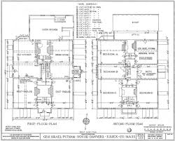 floor plan and elevation drawings 1200px putnam house floor plans plan elevation drawings wikipedia