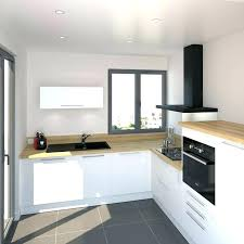 cuisine blanc et bois cuisine blanc et bois agrable blanche laque plan travail newsindo co