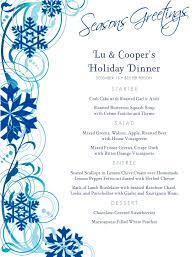 thanksgiving dinner menu template christmas menu word template virtren com