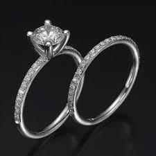 engagement jewelry sets diamond bridal set ballerina premier 1 2 carat 0 40ct