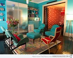 red and turquoise living room ideas home design stunning homey 15