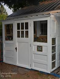 build a shop designdreams by anne building a shed with old doors