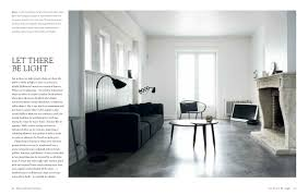 monochrome home elegant interiors in black and white hilary