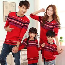 sweater for family 2015 fashion 3 pcs family matching sweaters pullovers