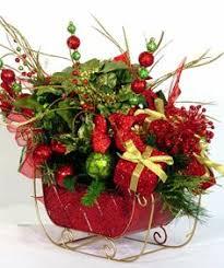 santa sleigh centerpiece my creations centerpieces